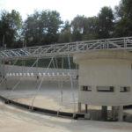 ERR Stainless Steel Circular Scraper with SSR Screw-conveyor Scum Remoer - DE-Waiblingen-Hegnach