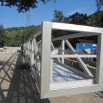 ERR Stainless Steel Circular Scraper with SSR Screw-conveyor Scum Remoer - DE-Waiblingen-Hegnach - Installation