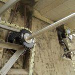 ARA Sensetal - CH-Laupen - Die zulaufseitigen Antriebswellen sind tiefer angeordnet