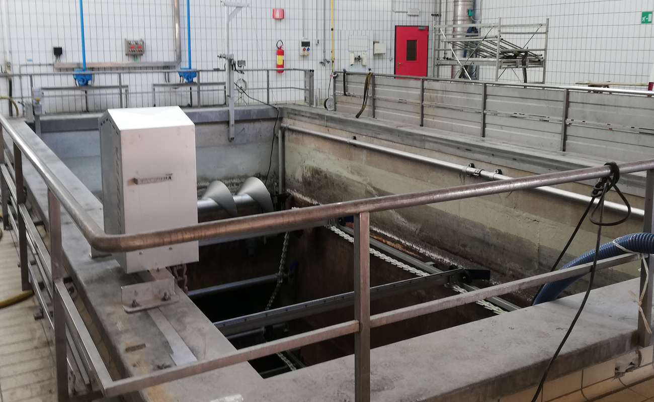 IT-Meran - grit and grease trap